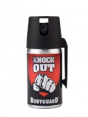 Knock Out, en laglig pepparspray från Bodyguard.